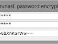 Encrypt your password