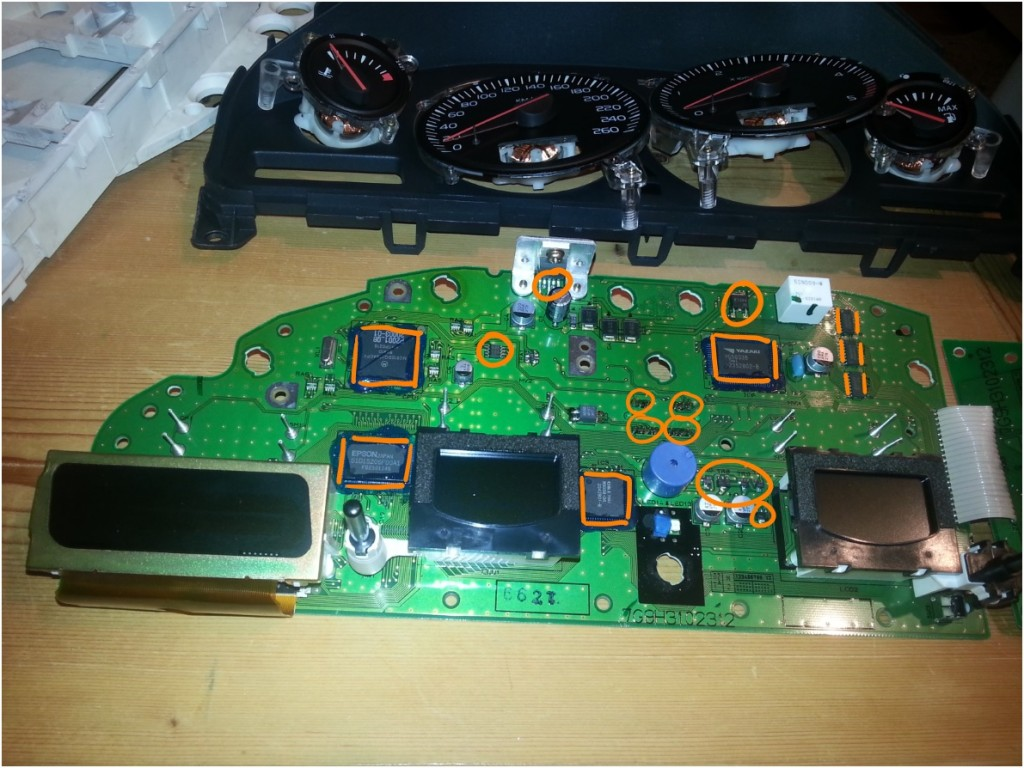 Volvo Xc90 Instrument Cluster Self Repair 171 Stichl At