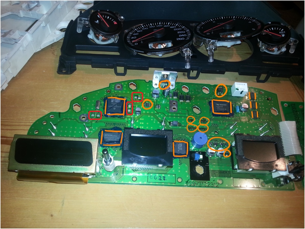 Volvo XC90 instrument cluster self repair « stichl.at